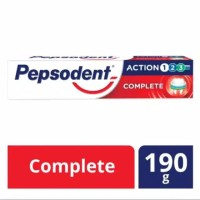 Pepsodent Action 123 Pasta Gigi Complete 190G
