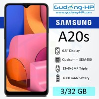 Samsung Galaxy A20s 3/32 GB Garansi Resmi SEIN - Hitam
