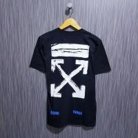 Kaos/Baju/Tshirt Off White Arrow brush premium hitam