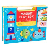 Educational Puzzle Toy Magnetic Transport Ocean Building Jigsaw Puzzle