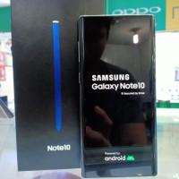 Samsung Note 10 8/256gb garansi 10 bulan