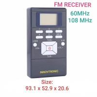 📻👍Grey 60-108MHz Stereo Digital FM Receiver. Radio FM Digital