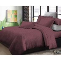 Adela - Elegant Collection - Bedcover - Chocholate - 120 x 200 x 30