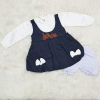 Baju Anak Bayi Perempuan Dress Balon Anak Semi Bolero