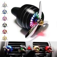 Parfum Mobil Baling Pesawat Car LED Light Vent Fan