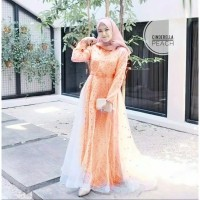 Dress Gamis Wanita Syari Muslimah Dewasa Jubah Pesta Cewek Maxi Muslim