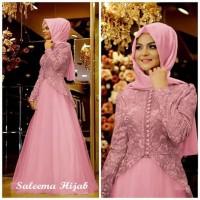 Gamis Wanita Syari Muslimah Dewasa Jubah Pesta Cewek Muslim Maxi Dress