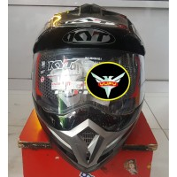 Helm KYT Enduro Solid Black
