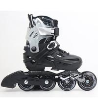 Sepatu Roda Anak Inline Skate Pemula Flying Eagle s6s Hitam - M 33-37