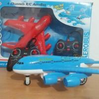 Mainqn Anak pesawat remot control Aerobus