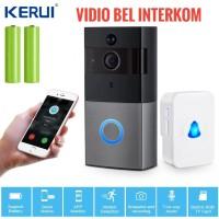 smart Home Bel Wireless smart video Door Phone Bell Interkom