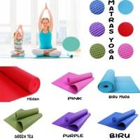 Murah Free Tas!! Matras Yoga-karpet senam-Yoga Mat-Matras Piknik