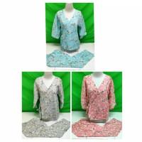 baju tidur kimono bunga katun jepang