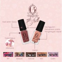 Madame Gie Nail Shell Peel Off Nail Polish isi 6