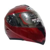 Helm KYT RRX (Modular) Solid - Red Maroon