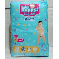BABY HAPPY BODY FIT PANTS POPOK ANAK DAN BAYI SIZE L 30+6PCS KODE 1172