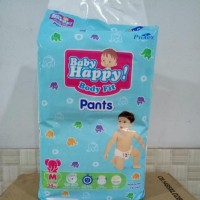 BABY HAPPY BODY FIT PANTS POPOK ANAK DAN BAYI SIZE M - 34+6 PCS KODE