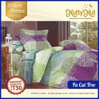 Nutty Nut Bed Cover Set Katun CVC GC - 180x200x30 King - Fa Cai Tree