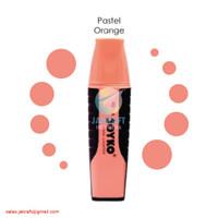 Highlighter Marker JOYKO HL-8 Warna Jingga Orange Pastel