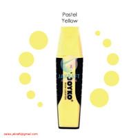 Highlighter Marker JOYKO HL-6 Warna Kuning Yellow Pastel
