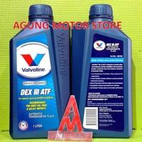 CUCI GUDANG Oli Transmisi Matic VALVOLINE ATF DEX III ( 1 liter )