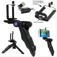 Mini Tripod Camera 3 In 1 For Go Pro Hero SJCAM SJ4000 SJ5000 Xia