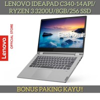 Laptop Lenovo Ideapad C340-14API-AMD RYZEN 3 3200U-8GB-256GB SSD-