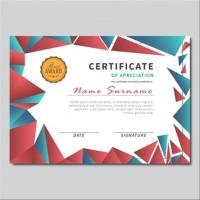 Cetak Desain Sertifikat Seminar Pelatihan Workshop free edit