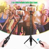 Tongsis Bluetooth Selfie Stick Tripod Yunteng YT-9928