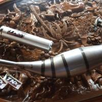 Knalpot Ninja 150 Matrial Galvanis TNX Racing Product Not ahm cms yy