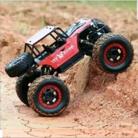 Rc car jeep army bahan metal alloy besi 4wd 2.4gHz 4x4 rc rock