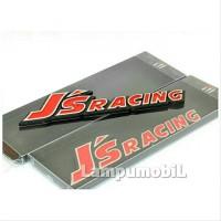 Metal Emblem Logo JS RACING Terbaru & Termurah spare part