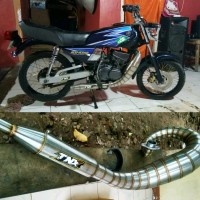 Knalpot RX King Model Udang Stainless TNX Racing Product not creampi
