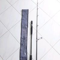 Rod spining kenzi torzite 165cm full fuji