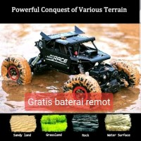 RC Rock Crawler JD Toys alloy body metal scale 1.18 2.4ghz 4X4 4WD