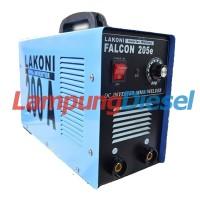 Lakoni Falcon 205E Mesin Trafo Las - Inverter
