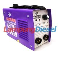 Lakoni Basic 123iX Mesin Trafo Las MMA - Inverter 450 Watt