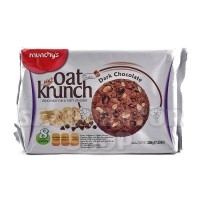 Biskuit Oats Munchys Munchy's Oat Krunch Crunch Dark Chocolate Cookies