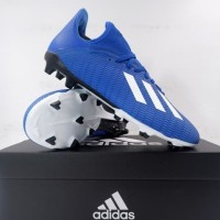 Sepatu Bola Anak Adidas X 19.3 FG JR Royblu EG7152 Original BNIB