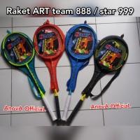 RAKET HART / ART. E - STAR 999 E-STAR / TEAM 888. + SARUNG. BADMINTON