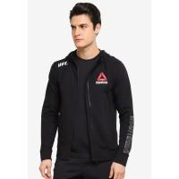 Sweater - Jaket - Hoodie - Zipper - Reebok UFC
