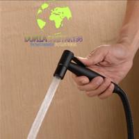 Jet shower Stainless Sus 304 hitam/toilet spray Bidet black