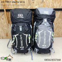 Tas Gunung / Carrier Co-trek Siberia 45+5 Include Rain Cover Terlaris