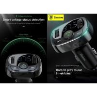 BASEUS Car Charger FM Transmitter Modulator MP3 Player T Bluetooth