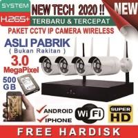 PAKET CCTV / KAMERA CCTV / CCTV / CCTV WIRELESS / TERBARU