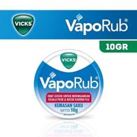 Vicks vaporub 10gr obat gosok meringankan gejala batuk pilek flu murah