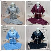 Piyama Satin Celana Panjang