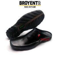 Sepatu Sandal Pria Kulit Asli 500
