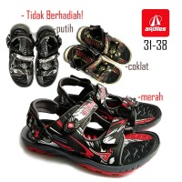 SANDAL ANAK ORIGINAL ARDILES SG NOW SANDAL GUNUNG ANAK LAKI LAKI - Cokelat, 31