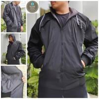 Jaket Parasut Bolak Balik Harrington Pria - BB Waterproof High Quality
